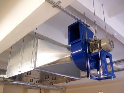 Ventiliacinė sistema - elektrinė dalis / dpelektra.com